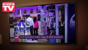 The New 2015 Black Knight Erotica Adelaide Sex Shop TV Commercial