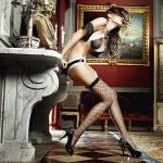 Fencenet Thigh High with Double Bow OS