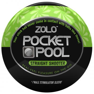 ZOLO - ZOLO Pocket Pool Straight Shooter - ZO-5015