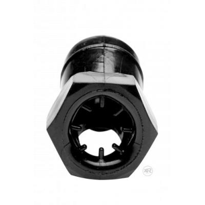 Detained Black Restrictive Chastity Cage - Master Series - AF255 - 848518026729