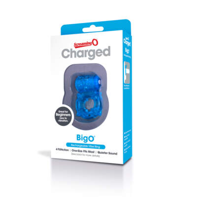Charged Big O - Blue Single - ABO-BU-101 - 3025970001 - SCREAMING O