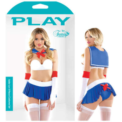 PLAY Sailor Luv 5 Piece Costume - M/L - B-PL1601-ML - 811432021743