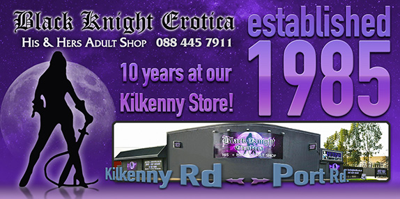 Black Knight Erotica - Sex Shop Online and Adelaide Sex Shop at Kilkenny