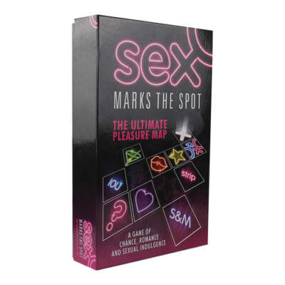 Creative Conceptions Sex Marks the Spot Couples Board Game USSMTS 847878002152
