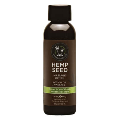 Earthly Body Hemp Seed Massage Lotion Naked in the Woods White Tea Ginger ML122 814487022833