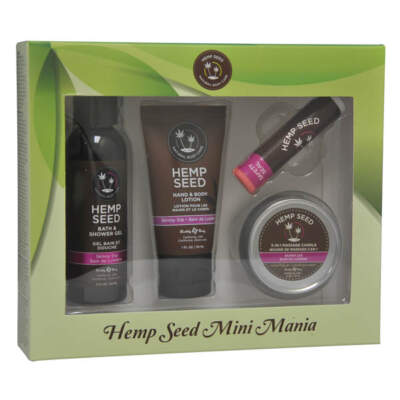 HSMM021 - EB Hemp Seed Mini Mania 4 Piece Set - SK - 814487021485