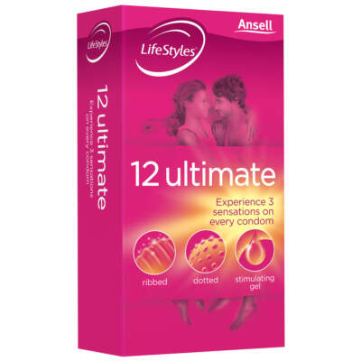 Lifestyles Ultimate Condoms 12 Pack ANS-LS-0014 9352417000014