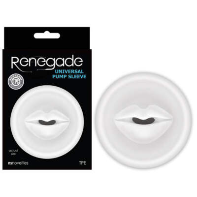 Renegade Universal Pump Sleeve - NSN-1127-21 - 657447098239 - NS Novelties