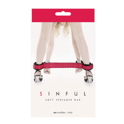 NSN-1234-14 sinful soft spreader bar pink