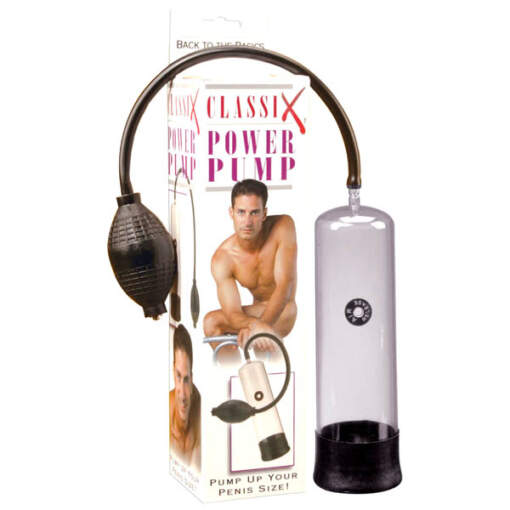 Pipedream - Classix Power Pump Penis Pump PD1908-00 603912183962