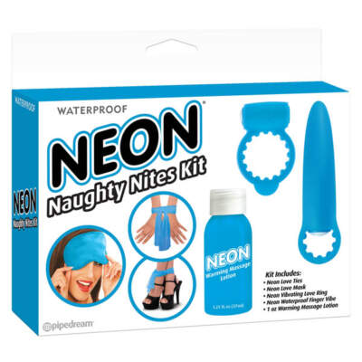 PD2000-14 Neon Naughty Nites Kit (Blue)