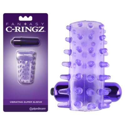 Fantasy C-Ringz  Vibrating Cock Sleeve - PD 5864-12 - 603912747782