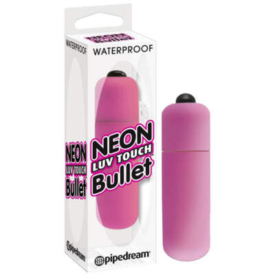 PD 2631-11 - Neon Luv Touch Bullet - Pink - 603912257809