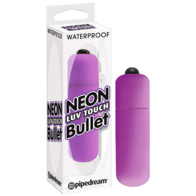 PD 2631-12 - Neon Luv Touch Bullet - Purple - 603912257847
