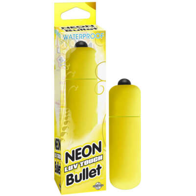 PD 2631-18 - Neon Luv Touch Bullet - Yellow - 603912257878