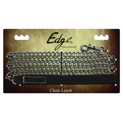 Chain Leash from the Edge Collection by Sportsheets