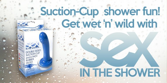 Sex in the Shower - Suction Cup Water Fun Sex Toys