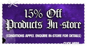 We offer 15% off selected products in-store when presenting this voucher. Conditions Apply