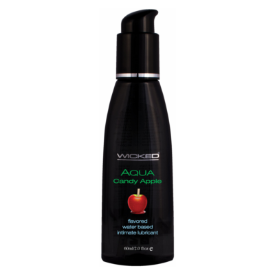 Wicked Aqua Candy Apple Lubricant 2oz 60ml 713079904024