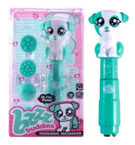 "Bzzz Buddies - ""Paws"" Personal Massager Kit"