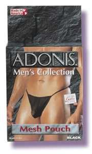 Adonis Mens Collection - Mesh Pouch