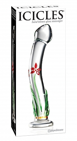 Icicles - Glass Massager - No 21
