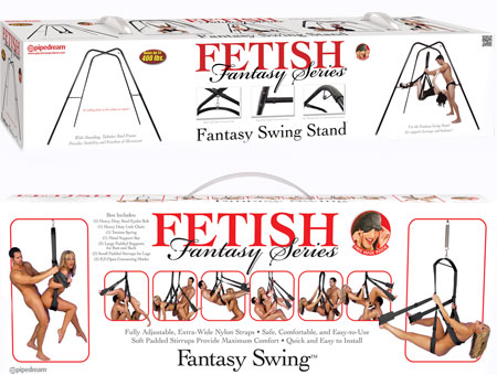 Fetish Fantasy Series - Fantasy Swing and Stand Set PICKUP ONLY