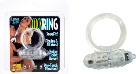 903-00100TCL1-CS - Ultra Soft Cockring (Clear) - 4897042500010