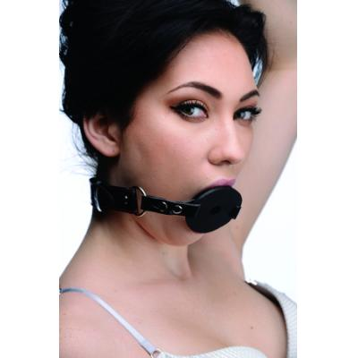 Devour Locking Feeding Gag (Black) - AE768 - 848518022882