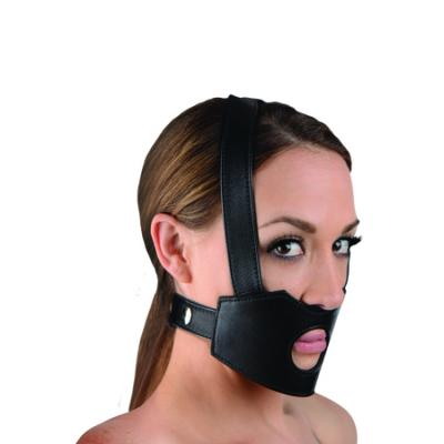Face Fuk II Dildo Face Harness (Black) - AE800 - 848518023070