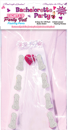 HP-2737 - Light Up Party Veil - 818631027378