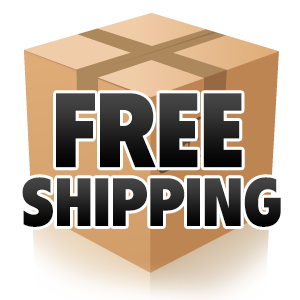 Shipping Icon of a Parcel Box for Discreet FREE Shipping