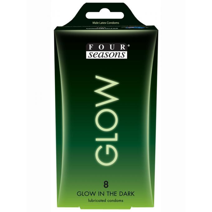 Four Seasons 8s Glow Condoms