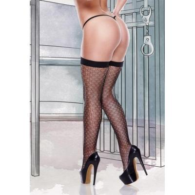 1375-Queen Size Fancynet Thigh High Stocking