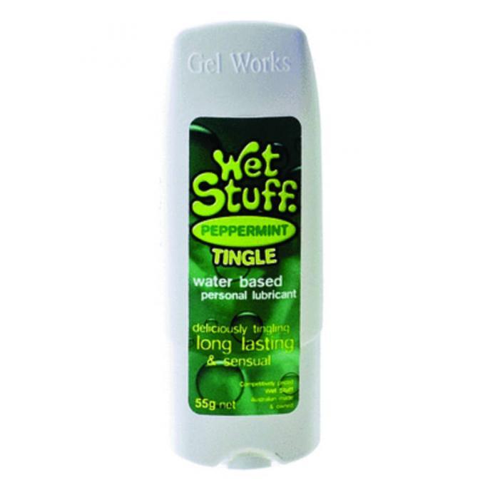 Wet Stuff Peppermint Tingle 55g Tottle