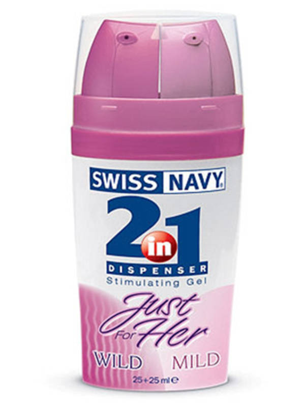 Swiss Navy 2 In 1 Just For Her Arousal Gel 25+25ml