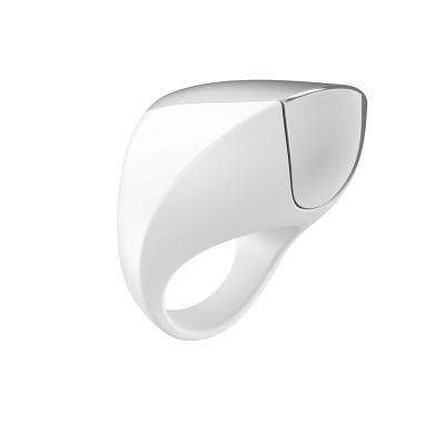 OVO A1 Rechargeable Ring White/Chrome