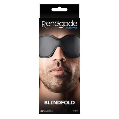 RENEGADE - Renegade Bondage Blindfold Black - NSN-1190-13