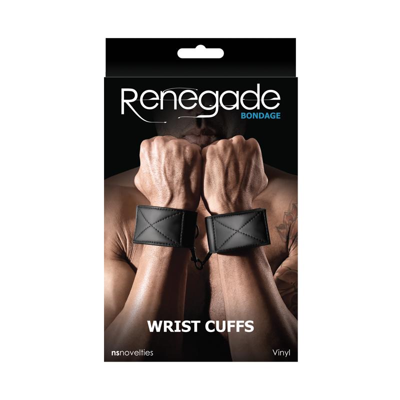 RENEGADE - Renegade Bondage Wrist Cuff Black - NSN-1193-13