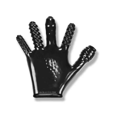 OXBALLS - Finger Fuck Glove Black - OX-1501-BLK