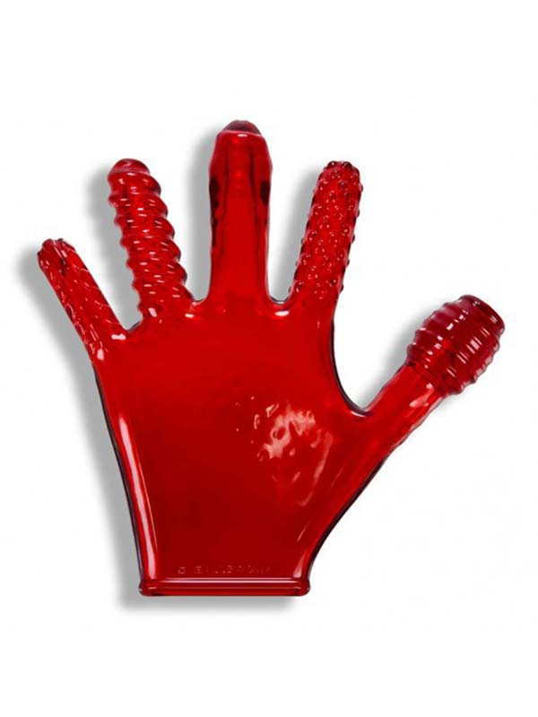OXBALLS - Finger Fuck Glove Red - OX-1501-RED