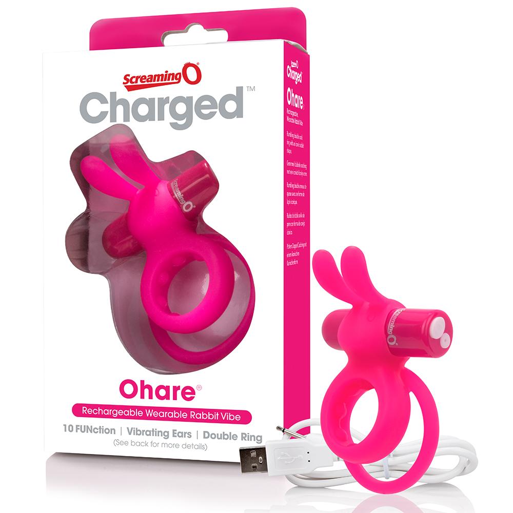 SCREAMING O - Charged Ohare Vooom Mini Vibe (6) - Pink - AHAR-PK-110