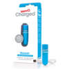 SCREAMING O - Charged Vooom Rechargeable Bullet Vibe (6) - Blue - AMV-BU-110