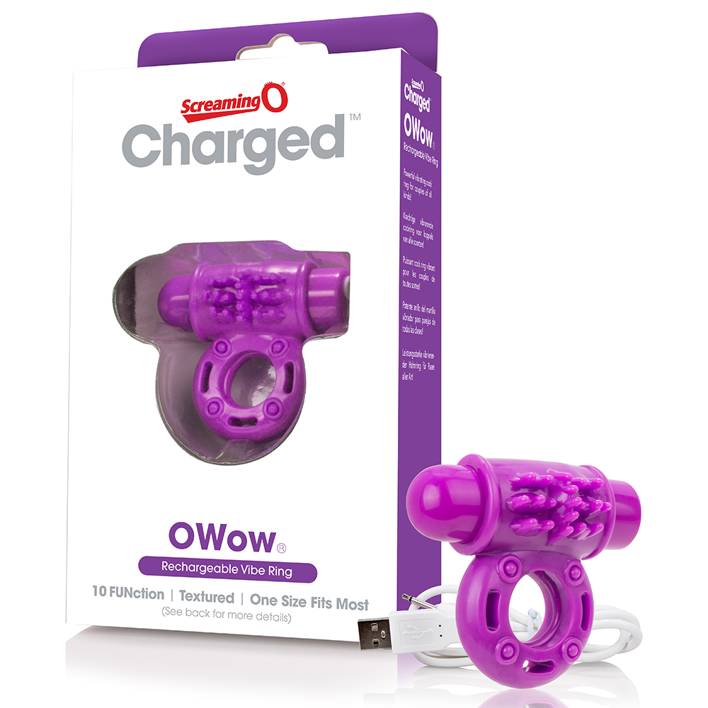 SCREAMING O - Charged OWow Vooom Mini Vibe (6) - Purple - AOW-PU-110