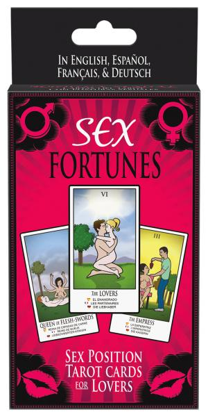 KHEPER GAMES - Sex Fortunes Card Deck - BG.C50