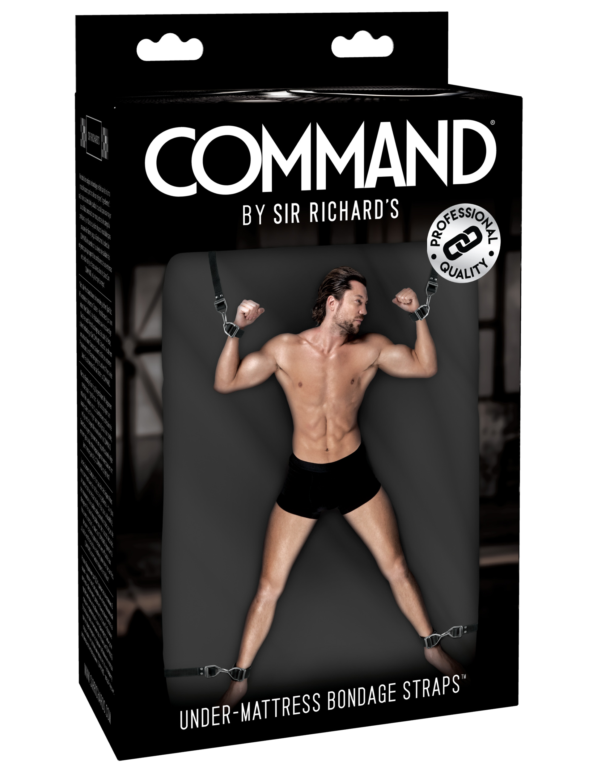 Sir Richards - SR Command Under-Mattress Bondage Straps - SR1045