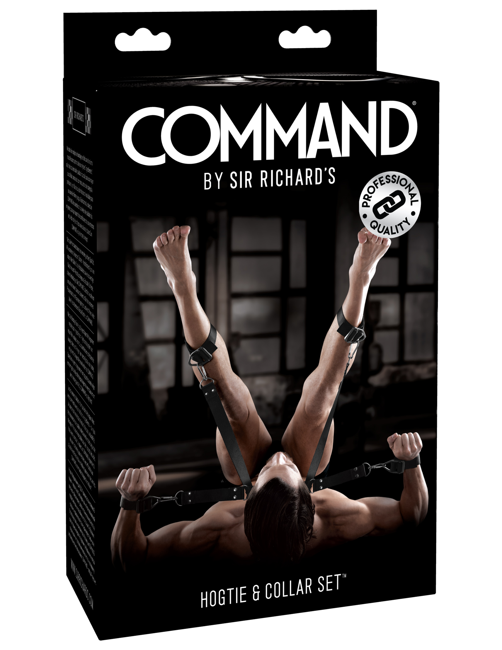 Sir Richards - SR Command Hogtie and Collar Set - SR1049
