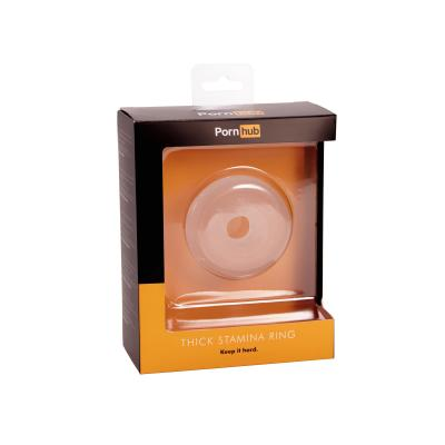 Pornhub Official Collection Thick Stamina Ring Clear - Pornhub - 94852 - 5032264448996