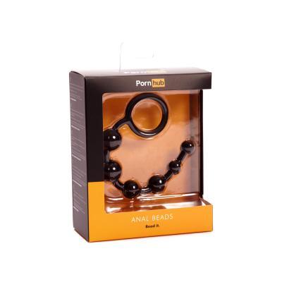 Pornhub Official Collection Anal Beads Black - Pornhub - 84857 - 5032264449047