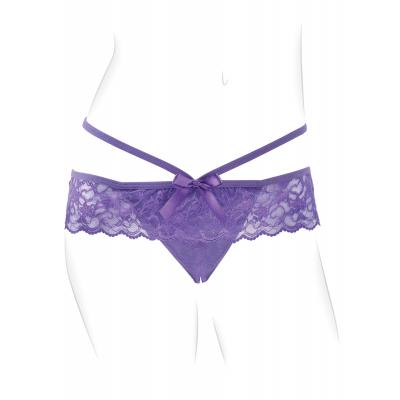 Fantasy For Her Crotchless Panty Thrill-Her - Pipedream Products - PD4933-12 - 603912752175